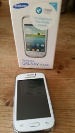 Samsung Galaxy Young - White