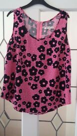 Ladies vest top, size small