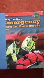 Nancy Caroline Emergency Care on the Streets 6th Edition. Used but decent condition