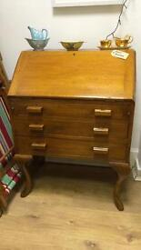Small vintage writing Bureau