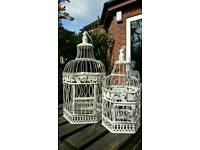 Shabby chic bird cages BARGAIN!
