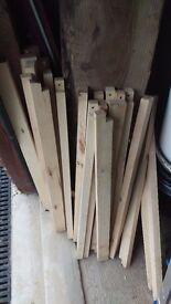 Hardwood Birch Timber Batten, Lath 46mm x 25mm x 70cm!