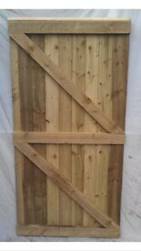6x3 high quality feather edge garden/side gates