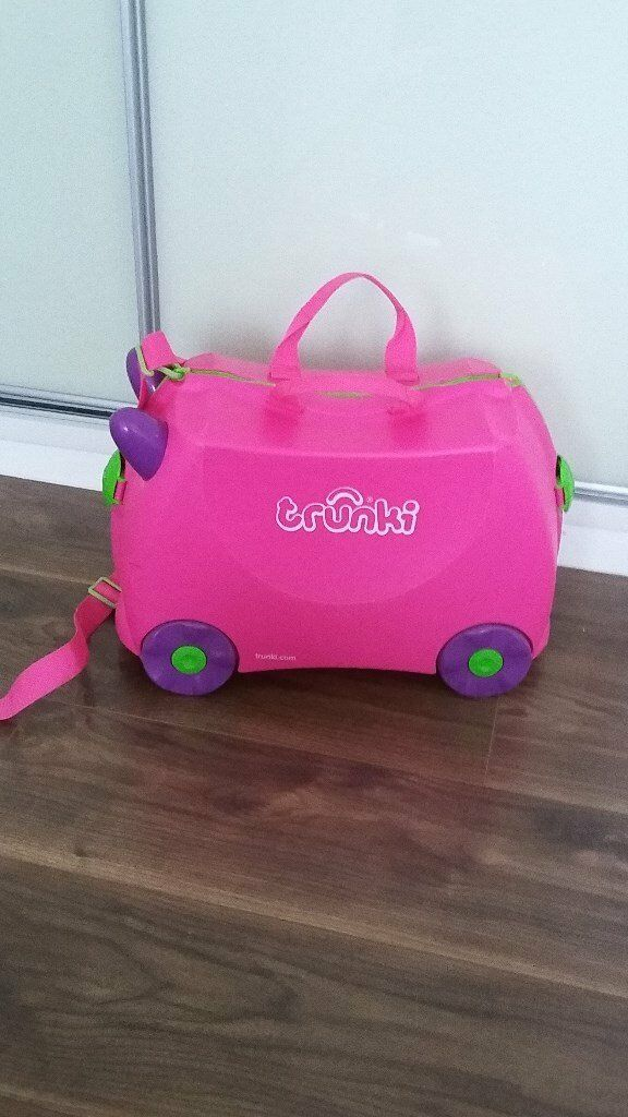 Pink TRUNKI Suitcase Children Luggage | in Stockport, Manchester ...