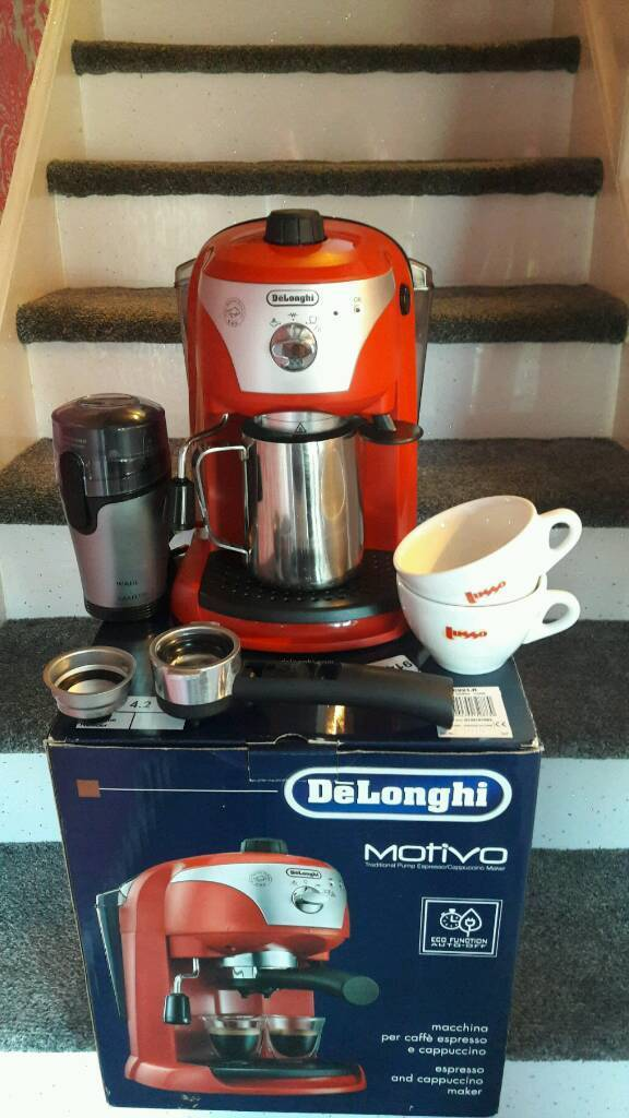Expresso cappuccino coffee machine for sale brand new condition