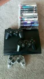 PS3 Playstation 3, PS2 & 38 games