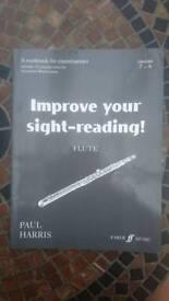 Flute Sight-reading grades 7-8