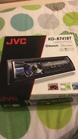 JVC KD-R741BT radio