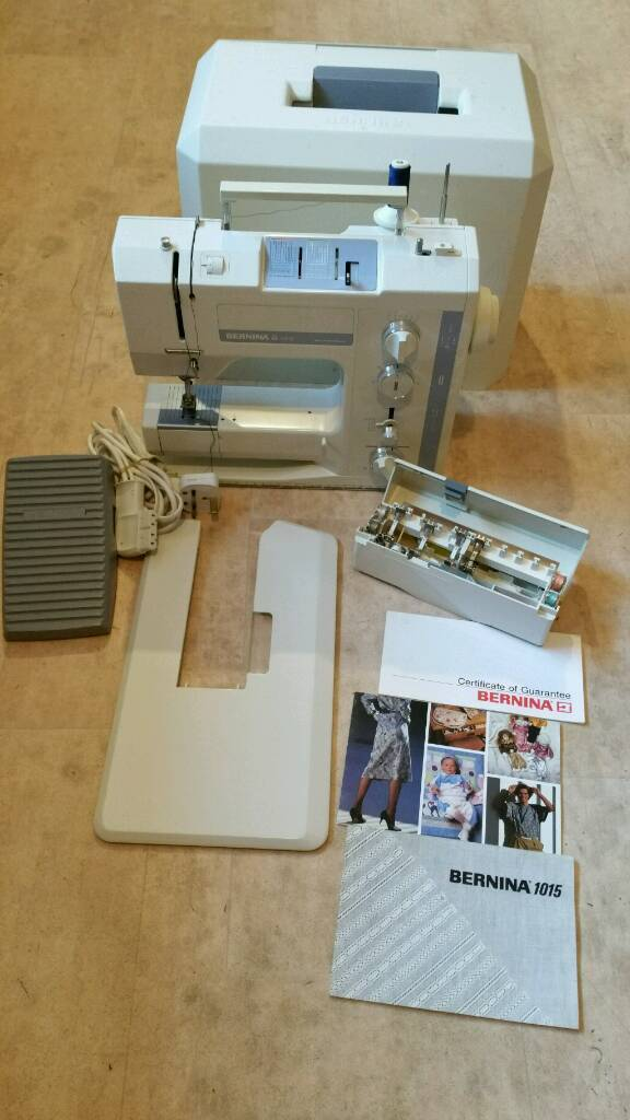 Almost New Condition Bernina 40 Sewing Machine In Stokeon Enchanting Bernina 1015 Sewing Machine