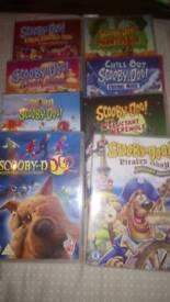 Scooby doo, dvds