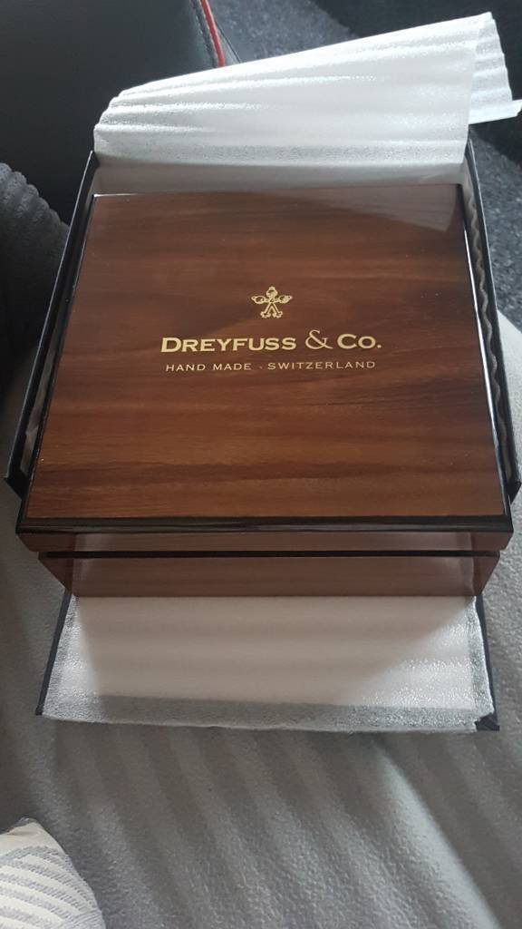 Dreyfuss and co mens watch