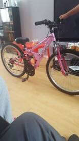 Apollo fs24 girls bike