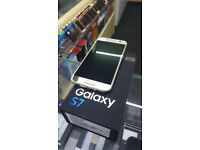 ~ RECEIPT INCLUDED ~ Samsung Galaxy S7 32GB Gold - UNLOCKED - Boxed