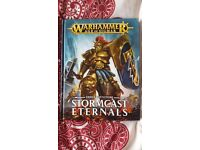 Warhammer age of sigmar stormcast eternals book