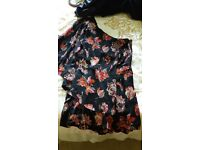 Top shop playsuit size 12