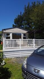 Stunningly sited static caravan for sale – Porthmadog, North Wales