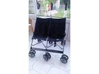 Babystart Twin pushchair BLACK