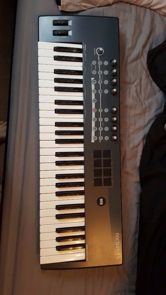 Novation Nocturn 49 Key MIDI Keyboard with AFTER TOUCH
