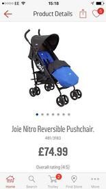 Joie reversible nitro pushchair