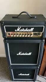 Marshall 15watt stack with effects and foot control