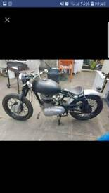 Royal enfield 500 bullet