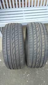 235 x18 tyres pair