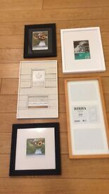 a selection of frames