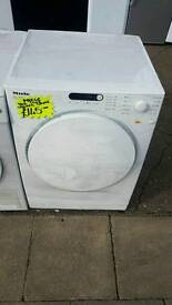 MIELE 8KG LOAD VENTED DRYER