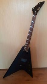 Vintage Metal Axxe flying V in black £60 ono