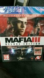 Ps4 Mafia 3 deluxe edition brand new.