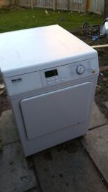 Miele professional vented dryer