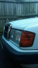 Mercedes classic 190 2.5 diesel breaking