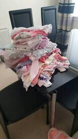 Baby Girl 0-3m clothing bundle VGC