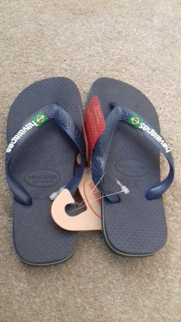 dab1eb6c762b0e New boys havaianas flip flops size 9 10