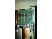 16 volumes dickens leather bound folio collection