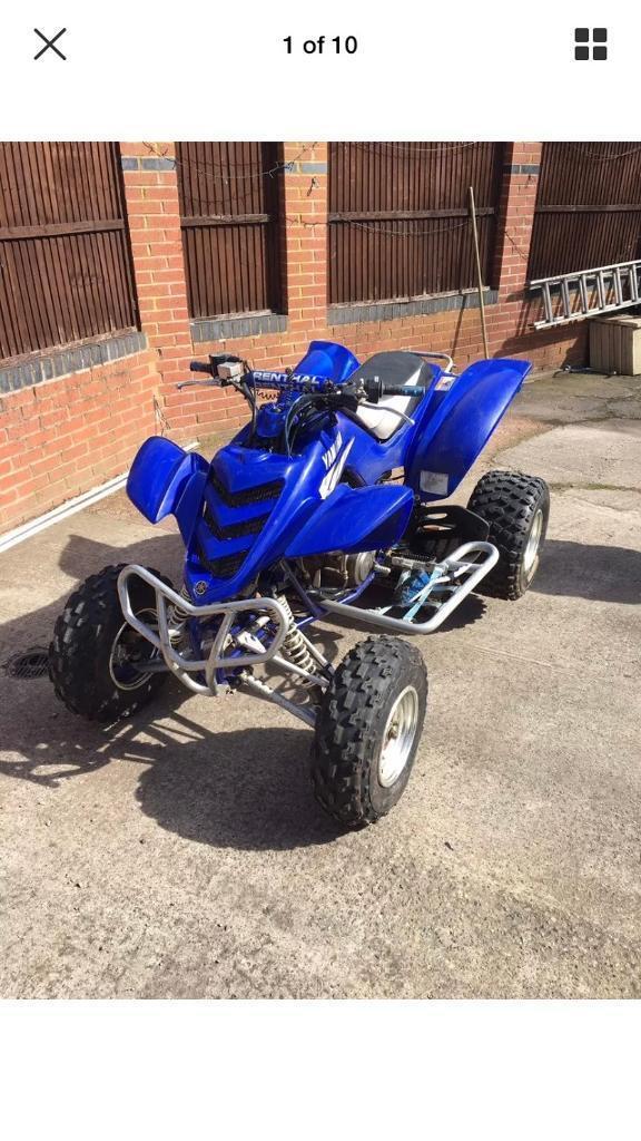 Yamaha raptor 660r quad