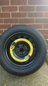 Spare wheel for a VW 1.9 Passat