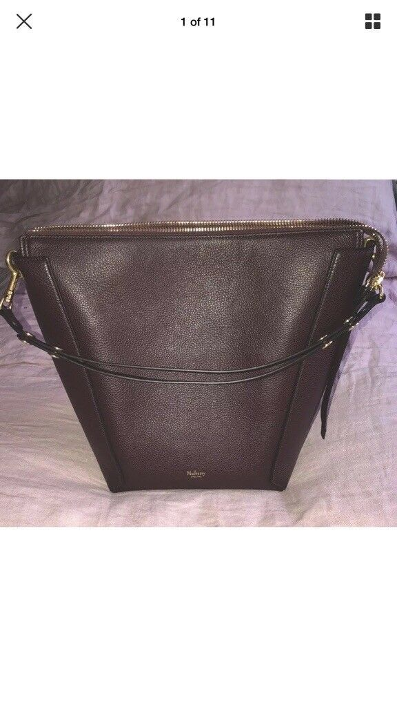 3f3d218cf9ca Mulberry Handbag Oxblood Small Camden Brand New