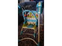 Fisher price baby rocker