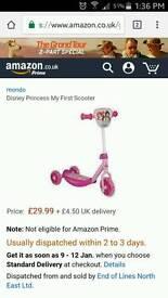 Disney Princess My first Scooter