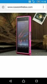 Pink sony xpria