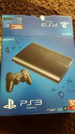 Ps3 superslim 500gb boxed