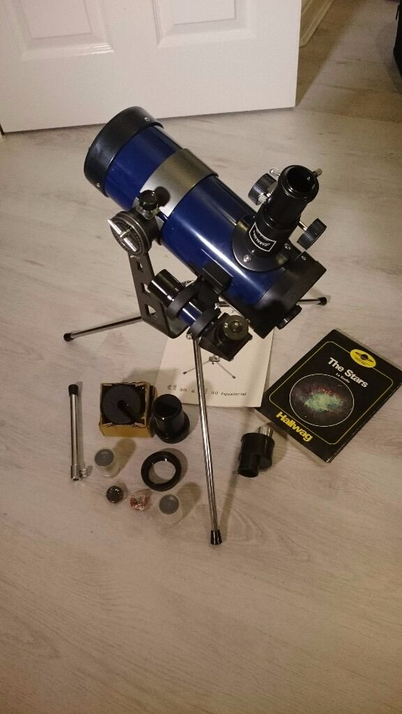 PARALUX compact telescope D=76mm F=600mm