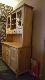 Solid oak dresser unit **reduced £375