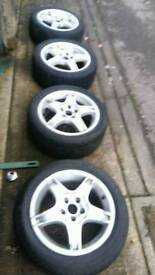 """15"""" toyota alloy wheels"""
