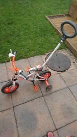 Boys toddler bike