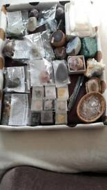 Collection of crystal