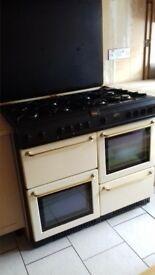 belling range gas cooker