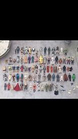 WANTED Vintage Star Wars toys cash waiting