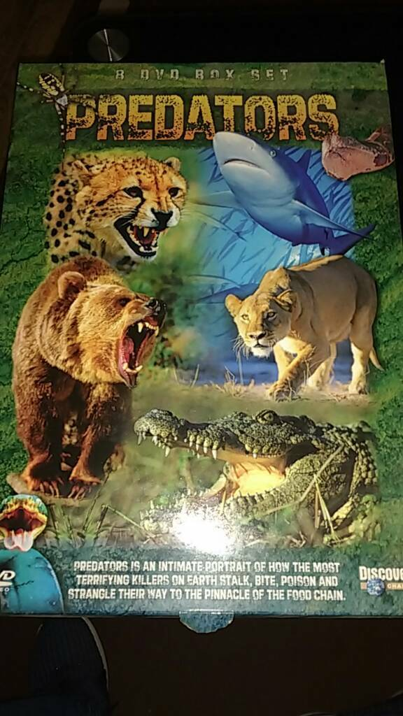 Predators 8 dvd box set